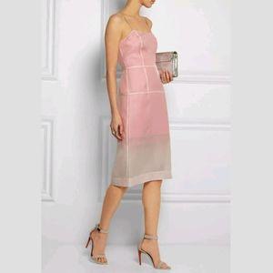 Marc Jacobs Mayu Panel Silk Organza Dress NWT 8